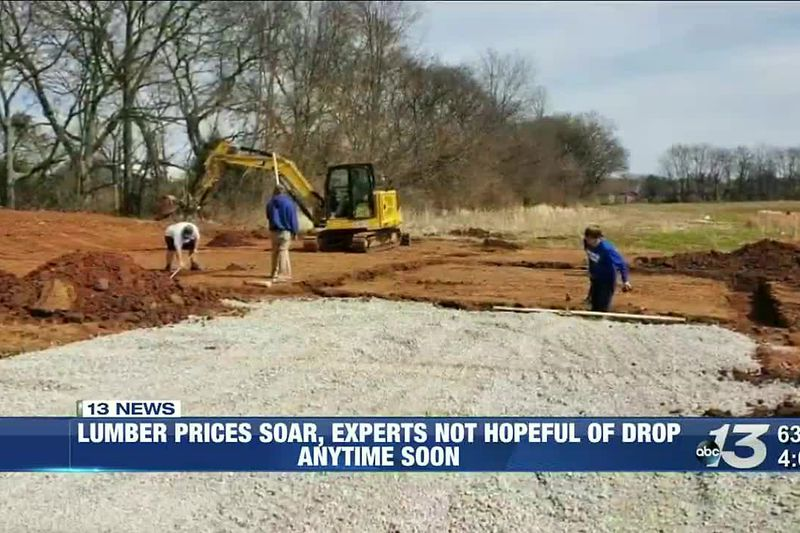 Lumber prices soar, experts not hopeful of drop anytime soon