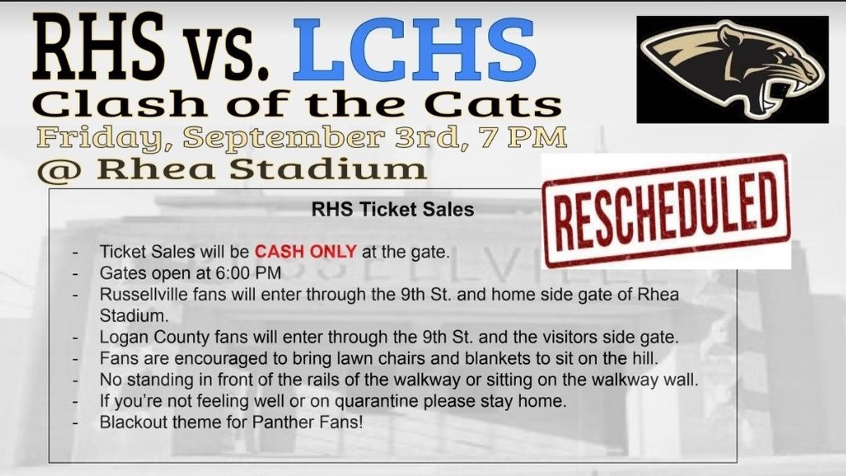 """""""Clash of the Cats"""" rescheduled"""
