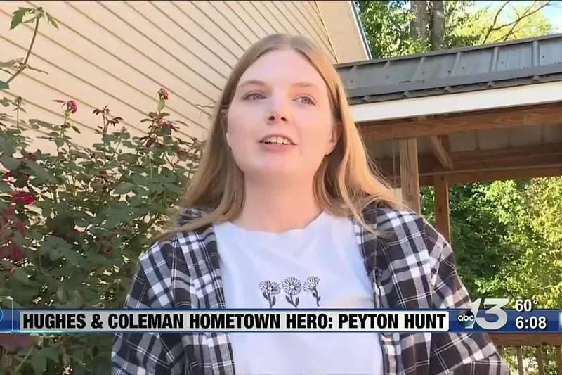 Hometown Hero: Peyton Hunt