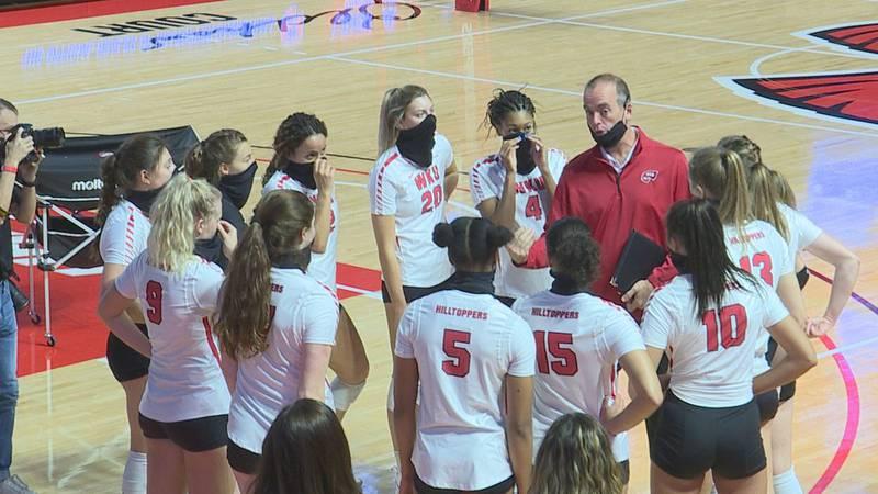 WKU finally opens season; sweeps UAB
