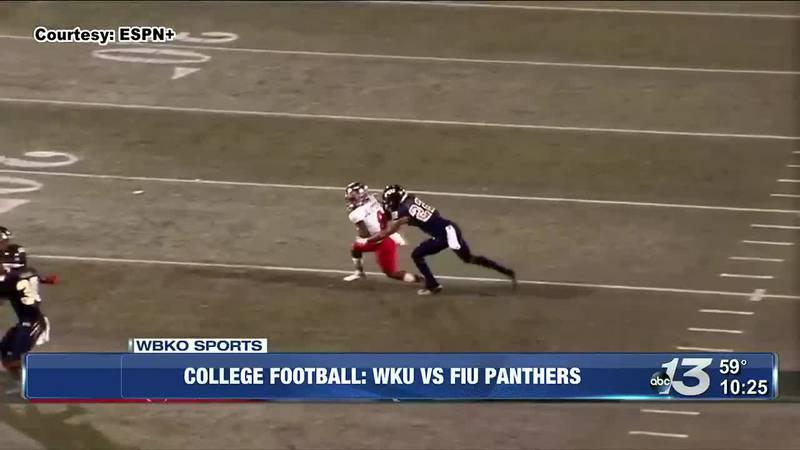 WKU football downs FIU Panthers 34-19, wins two straight
