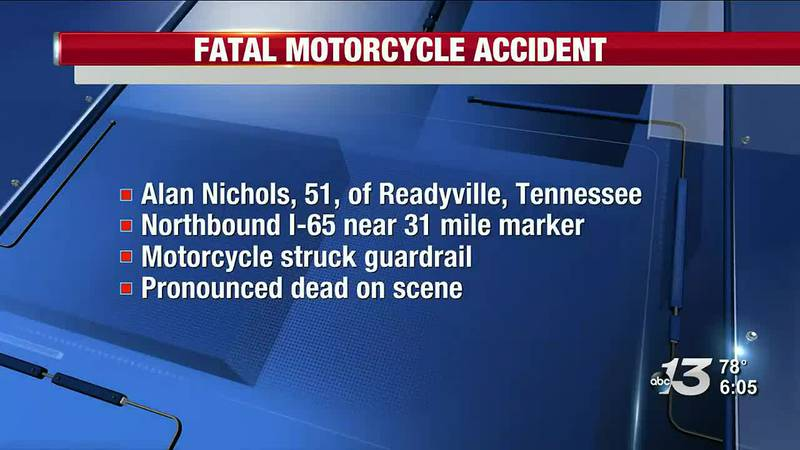 Victim from Fatal Motorcycle Crash Identified