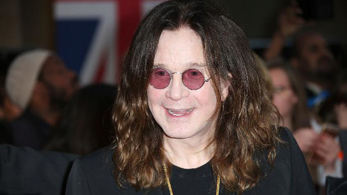 FILE - In this Sept. 28, 2015 file photo, Ozzy Osbourne arrives at the Pride of Britain Awards 2015 in London. Osbourne says he's going off the rails on a crazy train while stuck at home with health woes, but plans to be back on track soon. The 70-year-old says he'll have to cancel European tour dates that had been scheduled for January and February, but he's recovering enough that he's keeping North American tour dates that start in May. (Photo by Joel Ryan/Invision/AP, File)