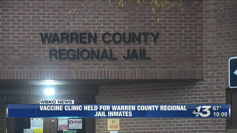 Vaccine clinic held for Warren County regional jail inmates