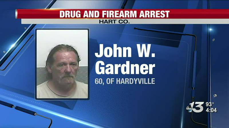 Hart Co. man arrested for growing marijuana in garden among other charges