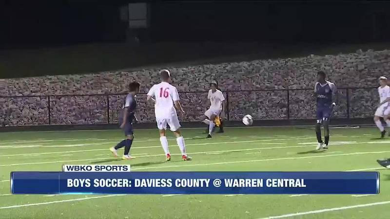 Warren Central, Daviess County boys tie 3-3
