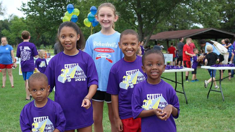 The free kids run is August 14 at Kereiakes Park in Bowling Green.