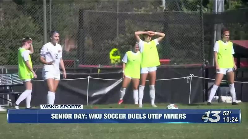 Senior Day: WKU Soccer Duels UTEP Miners