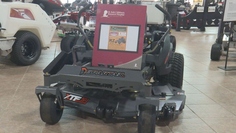 Tickets on sale prize: Spartan zero turn mower