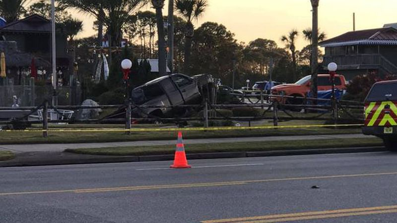 Two children are dead after a car accident near Coconut Creek Golf Course on Front Beach Road....