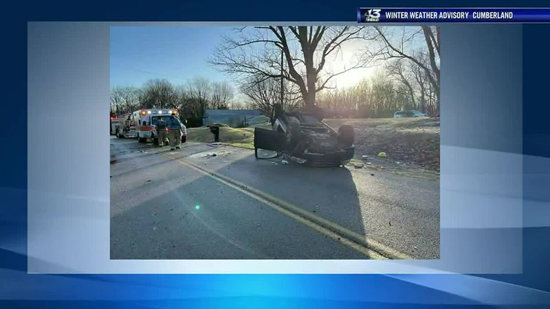 Slick Conditions Lead to Morning Crashes