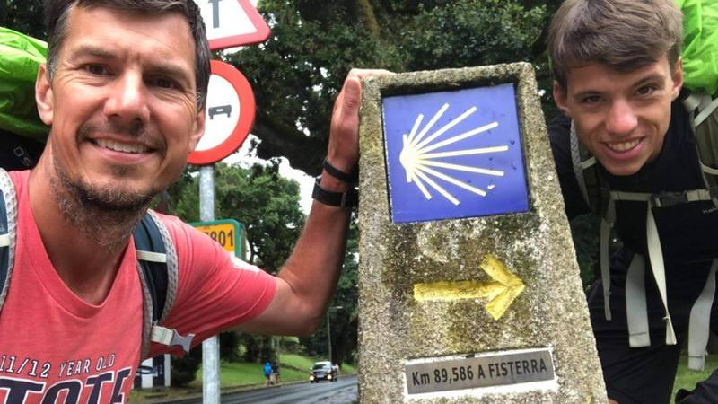 Dan Klein and his son John are making the 500 mile journey to the Cathedral of Santiago de...
