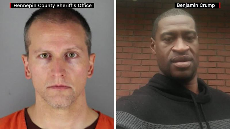 Former police officer Derek Chauvin is charged with murder and manslaughter in George Floyd's...