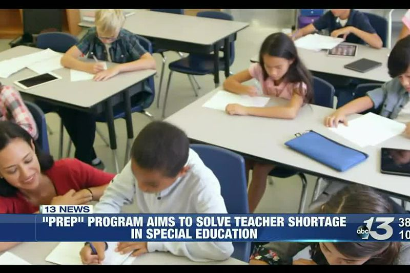 """""""PREP"""" program aims to fill shortage of teachers in special education"""