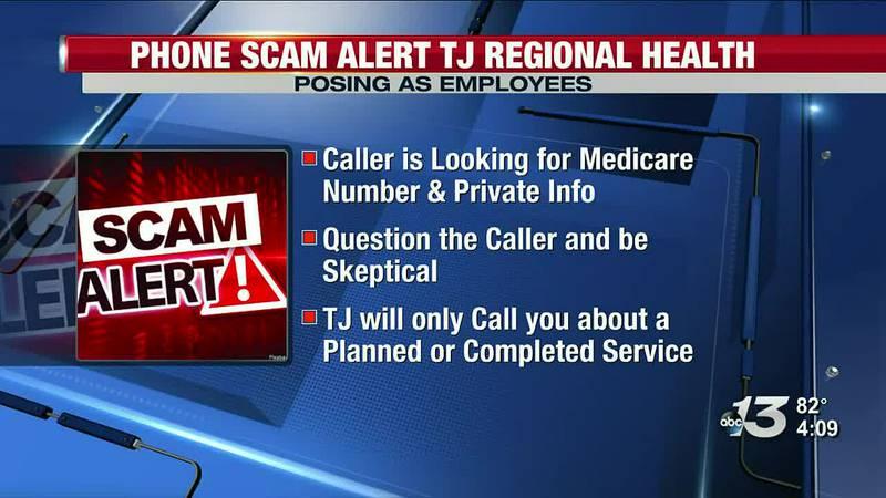 TJ Samson issues warning of Scam Alert