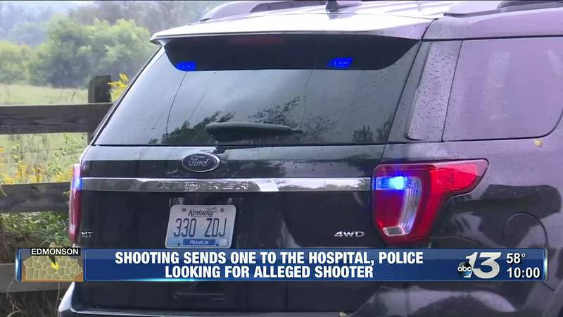 Shooting sends one to the hospital, police looking for alleged shooter @ 10