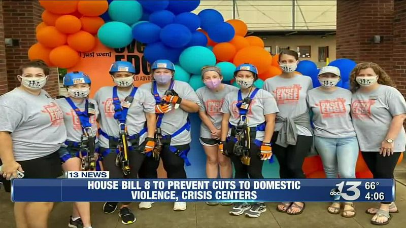 House Bill 8 to prevent cuts to domestic violence, crisis centers