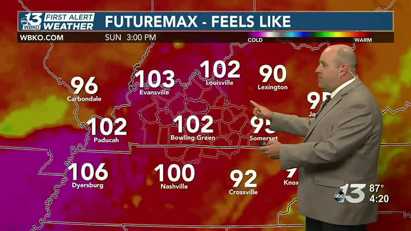 Dry for Saturday, some rain possible Sunday