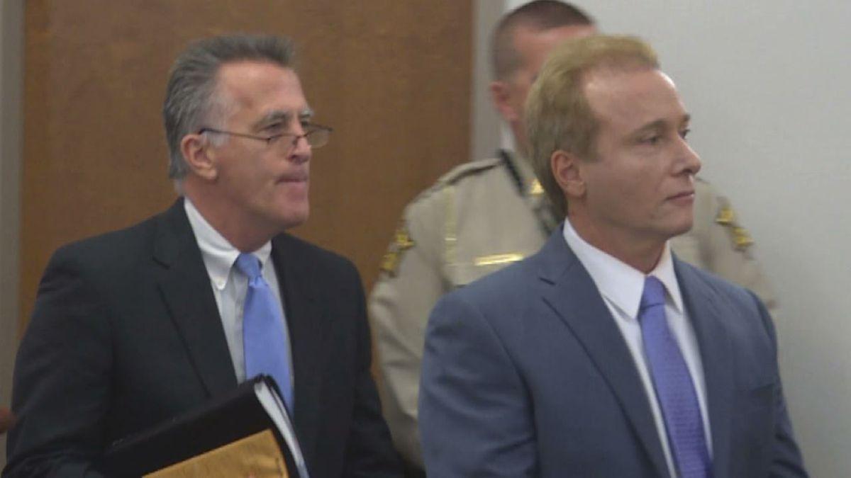 Rene Boucher appears in Warren District Court in November 2017