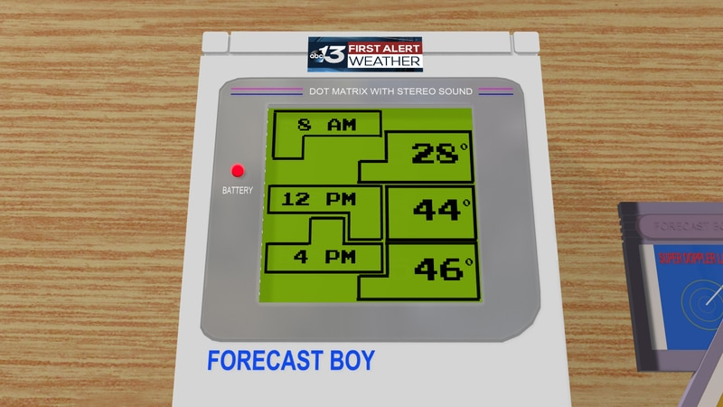 We're not playing games, we're really going to see more sunshine and warm conditions this...