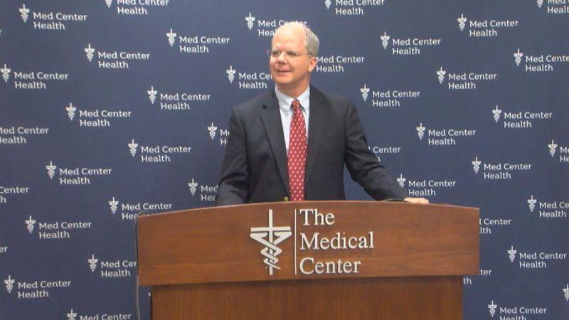Congressman Brett Guthrie visits Med Center Health