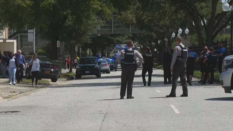 One student was shot at New Hanover High School Monday morning.