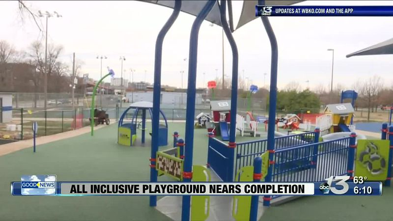 Good News: All Inclusive Playground Nears Completion