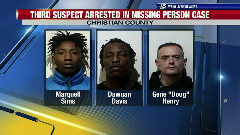 Third Suspect Arrested in Missing Person Case