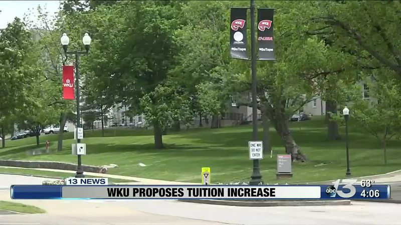 WKU to raise tuition by 2%
