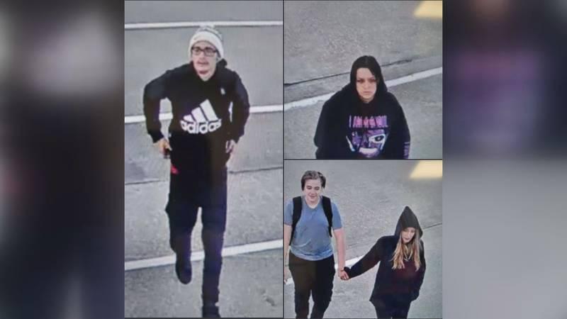 WKU PD need help identifying suspects in criminal mischief case