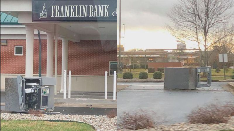 An ATM in Bowling Green was vandalized, in an attempt to take it in the early morning hours of...