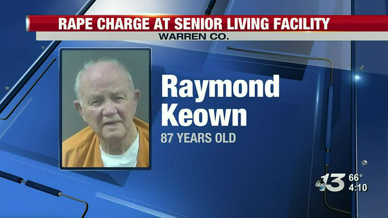 Rape charge at senior living facility in Warren Co