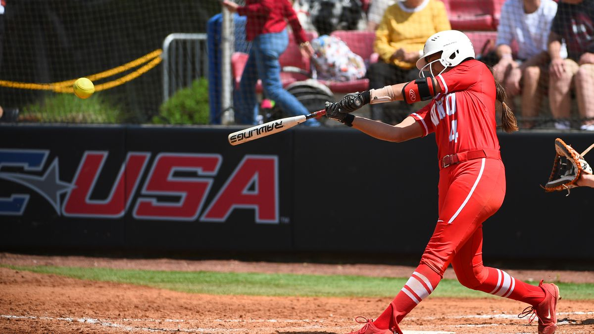 WKU Hilltopper softball redshirt sophomore Kennedy Sullivan earned Conference USA Hitter of the...