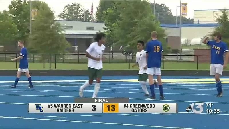 Greenwood boys, Warren East girls advance in 14th district soccer playoffs