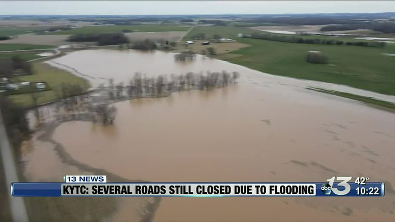 Flooding aftermath: several roads still closed according to KYTC