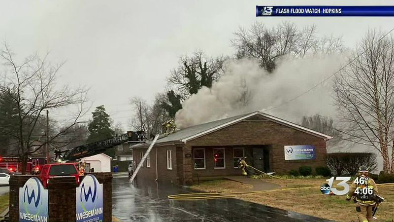 Fire at Wiesemann orthodontics
