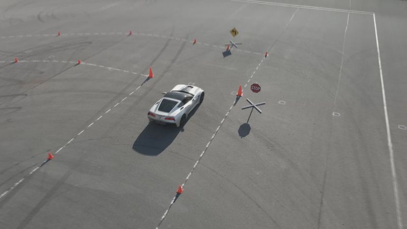 Driving course at NCM Motorsports Park