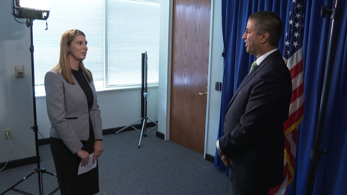 FCC Chair Ajit Pai presses for automatic, default blocking of so-called 'robocalls' by phone providers. Washington Correspondent Alana Austin speaks with the Chair about the new rule. (Source: GrayDC)
