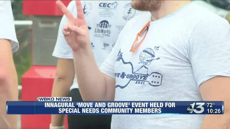 Innagural 'Move and Groove' Event Held For Special Needs Community Members