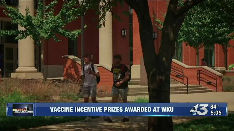 View From the Hill: Vaccine Incentive Prizes Awarded at WKU
