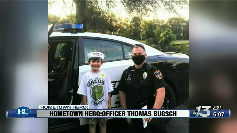 Hometown Hero: Officer Thomas