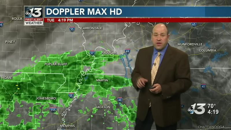 Temps stay mild as we stay dry a bit longer