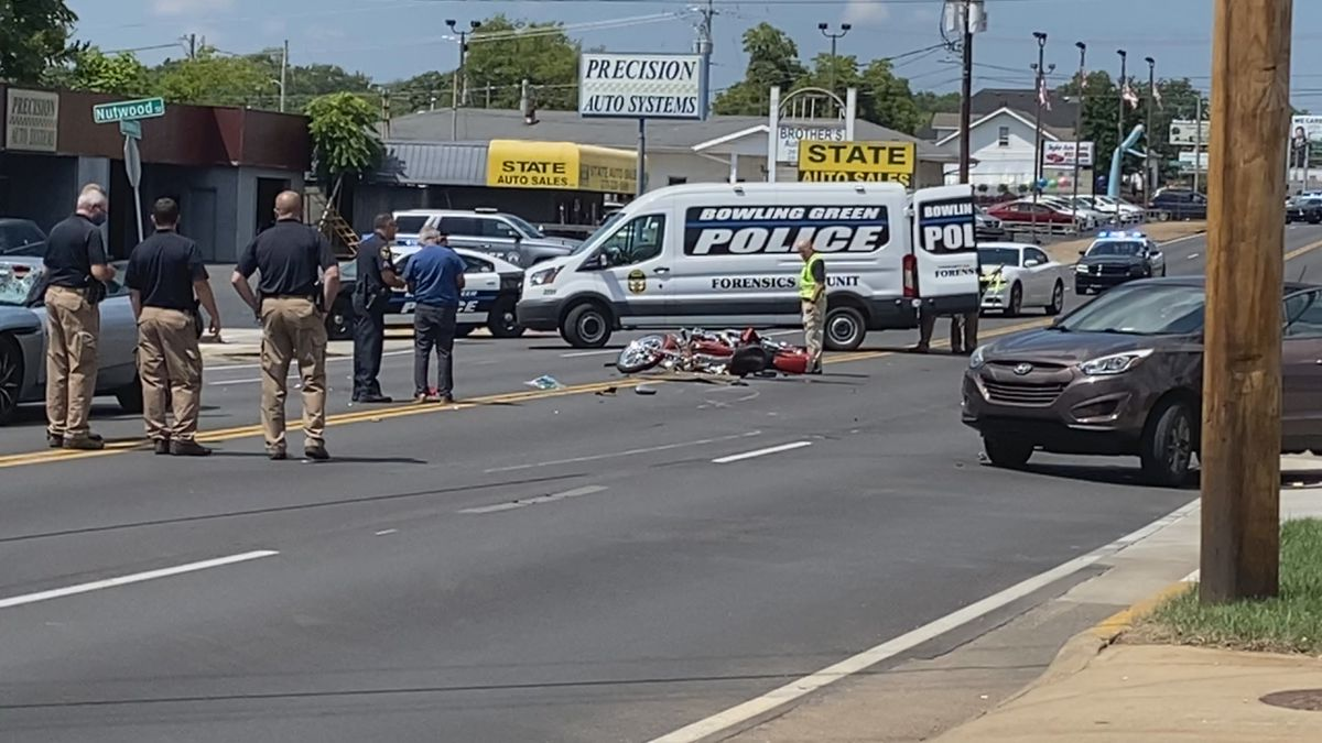BGPD says 39-year-old Darrell E. Morgan of Stanford was killed in an accident involving a...