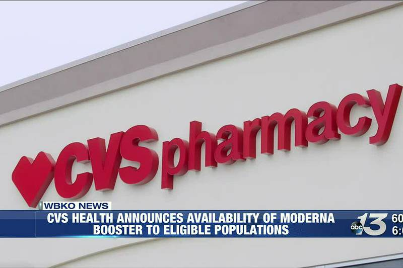 CVS Health Announces Availability of Moderna Booster To Eligible Populations