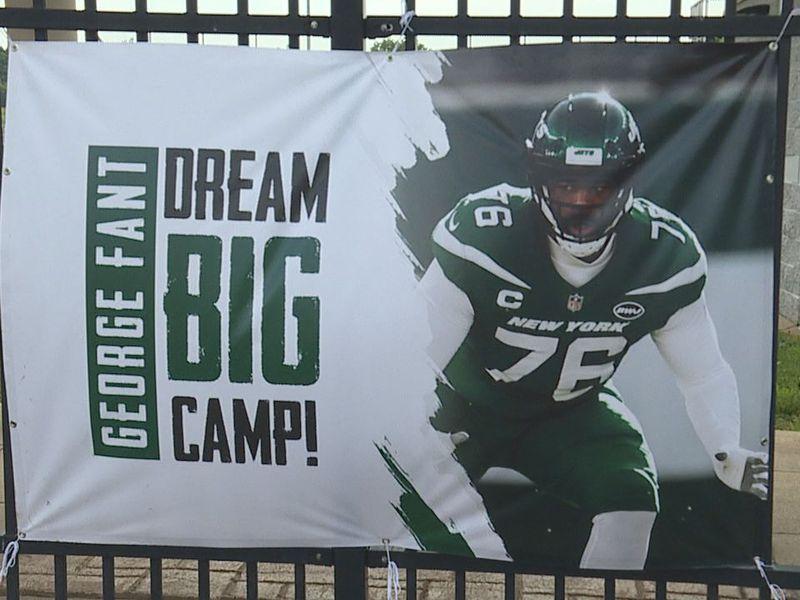 George Fant dream big camp 2021