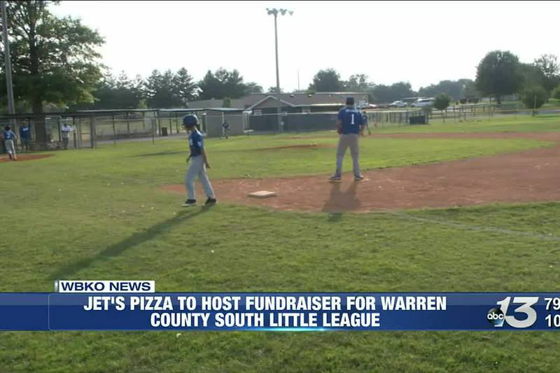 Jet's Pizza to Host Fundraiser for Warren County South Little League