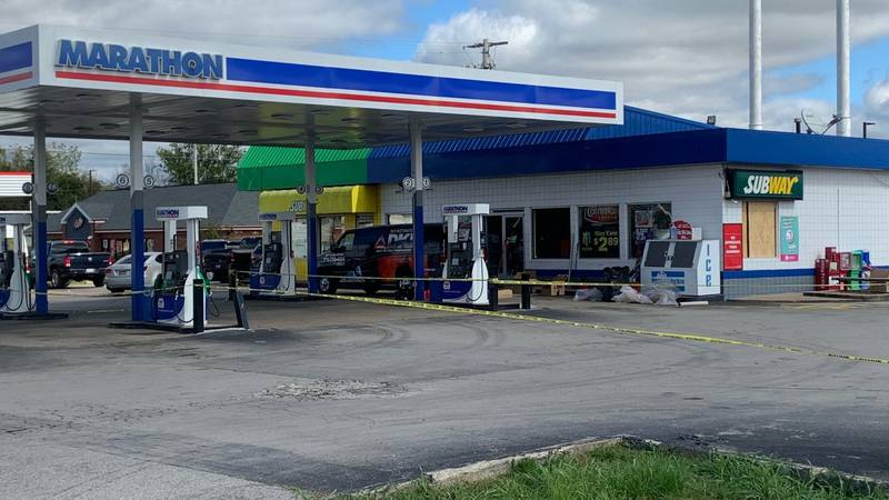 Suspect arrested in Smiths Grove after incident at gas station.
