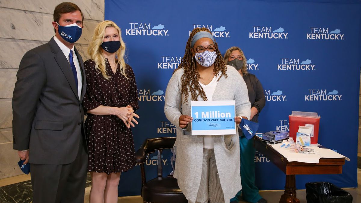 One million COVID vaccines are now in the arms of Kentuckians