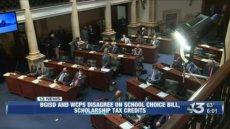 BGSID and WCPS disagree on school choice bill, scholarship tax credits
