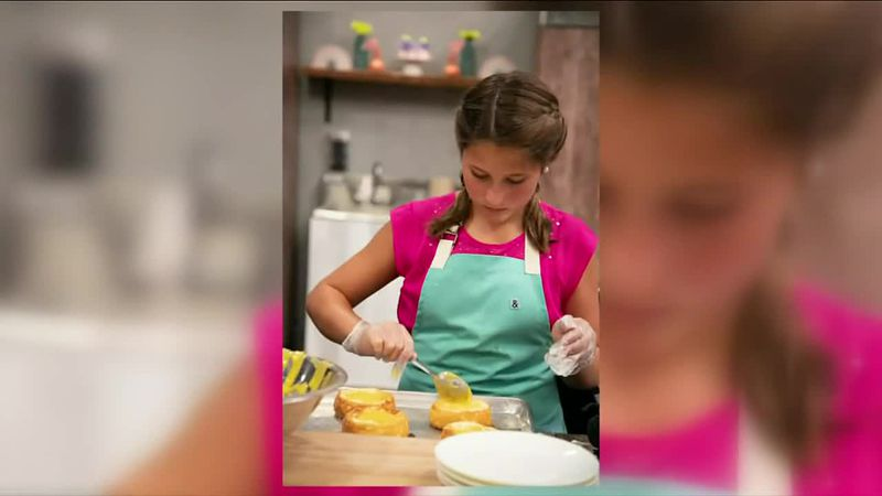 "Haylin Adams appeared on Food Network's ""Kids Baking Championship"""